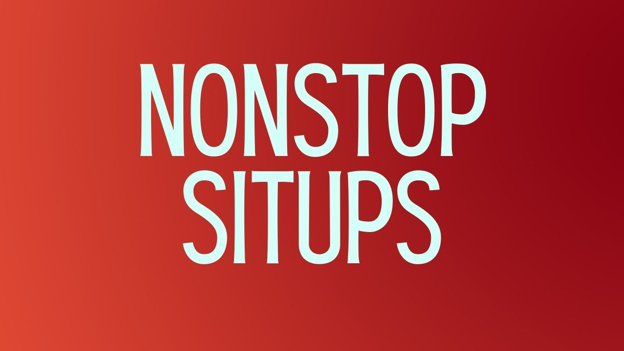 You are currently viewing Are There Any Benefits of Nonstop Sit-ups?